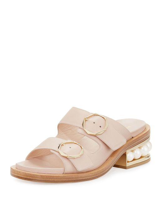 Nicholas Kirkwood | Multicolor Casati Pearly Two-strap Sandal | Lyst