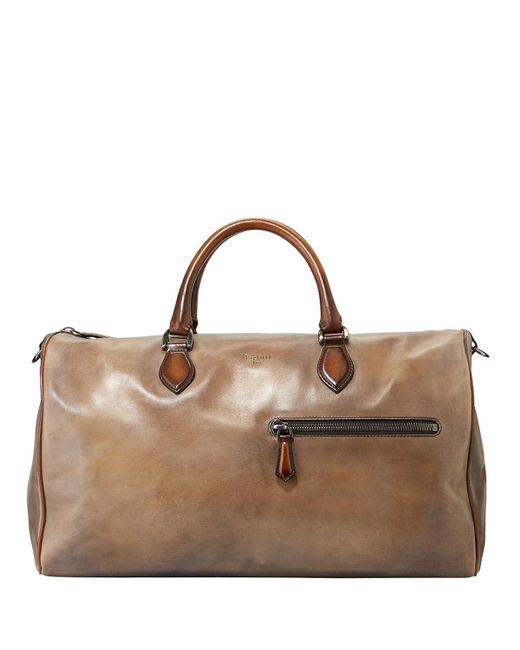 Berluti | Brown Jour-off Mm Large Leather Duffel Bag for Men | Lyst