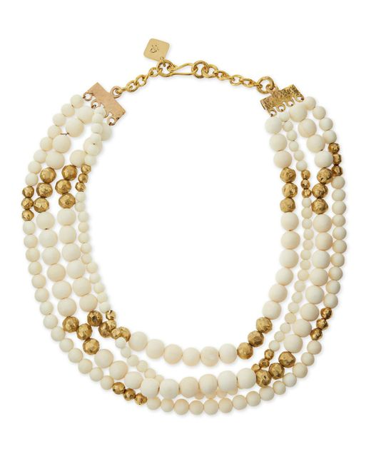 Ashley Pittman - Metallic Nyumba Multi-strand Bead Necklace - Lyst