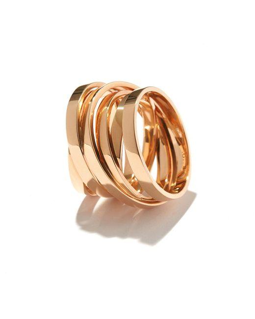 Repossi - Metallic Technical Berbere Ring In 18k Rose Gold - Lyst