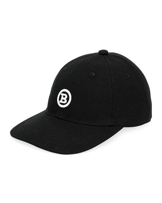 e9772a77f00 Bally - Black Men s Logo-embroidered Baseball Hat for Men - Lyst ...