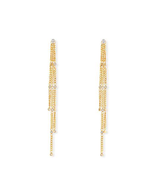 Vita Fede - Metallic Stella Swarovski Crystal Solitaire Earrings - Lyst