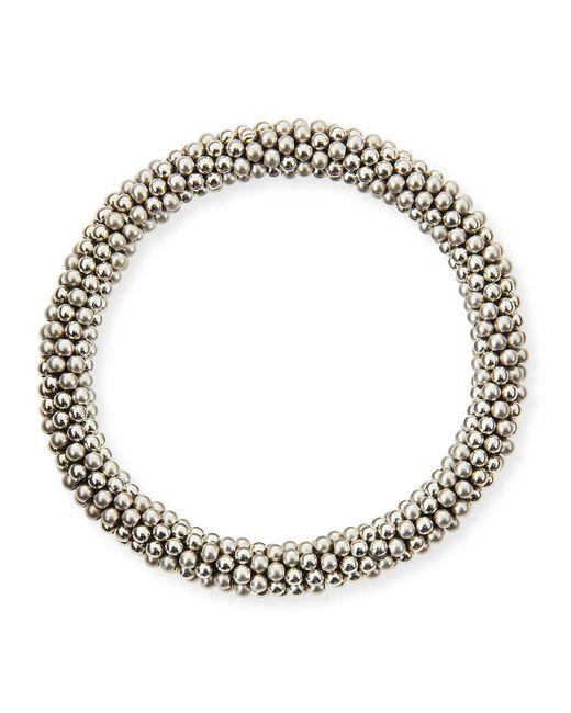 Meredith Frederick | Metallic Elsie D 14k And Silver Bead Bracelet | Lyst