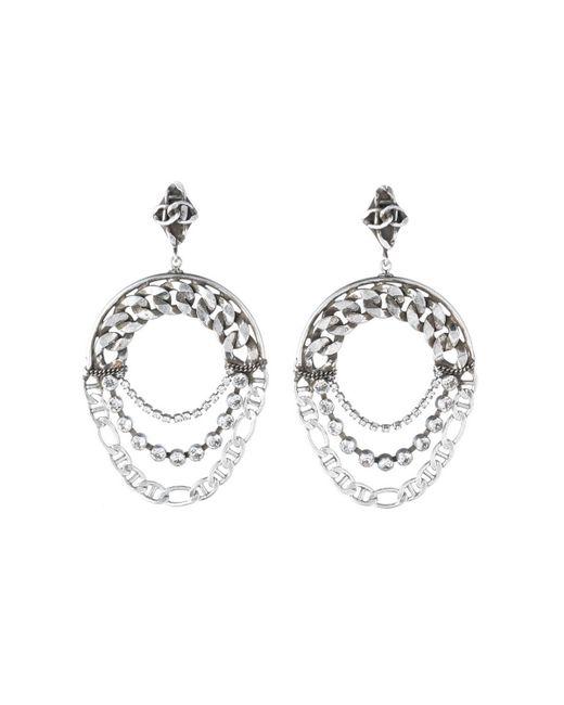 DANNIJO - Metallic Nu Statement Earrings - Lyst