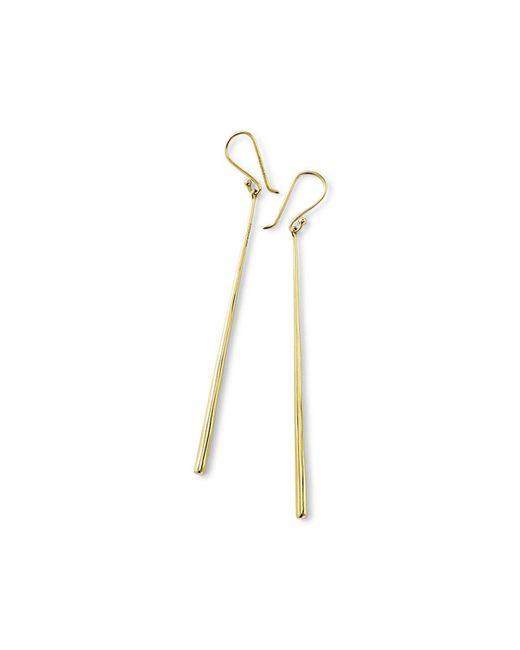 Ippolita - Metallic 18k Glamazon Thin Elongated Earrings - Lyst