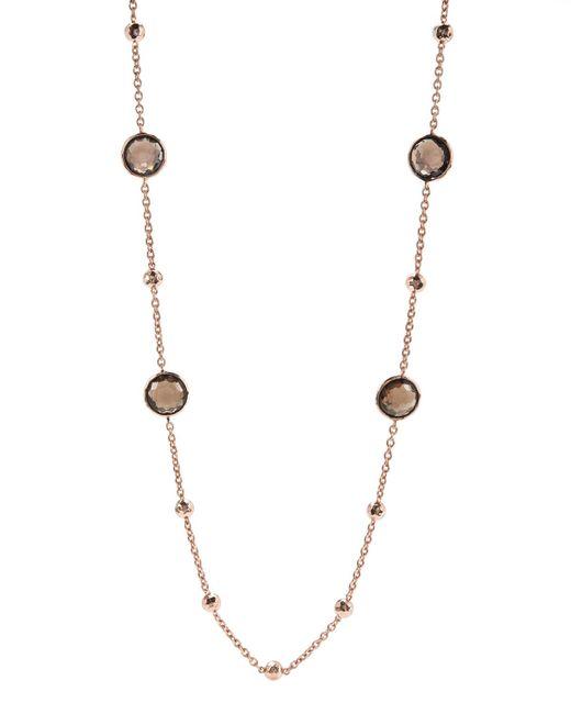 Ippolita - Pink Rose Mini Lollipop Quartz Necklace - Lyst