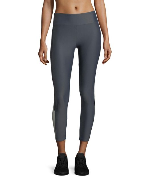 Lanston - Gray Deelan Side-block Ankle Compression Leggings - Lyst