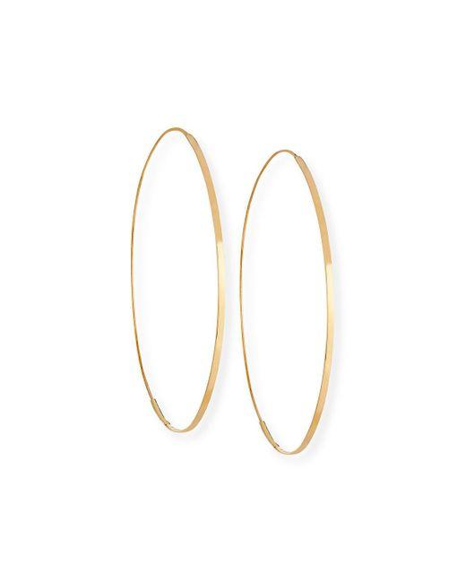 Lana Jewelry - Metallic Flat Magic 14k Hoop Earrings - Lyst