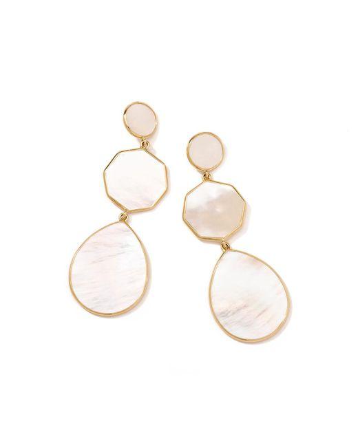 Ippolita - White Gelato Mother-Of-Pearl Earrings - Lyst