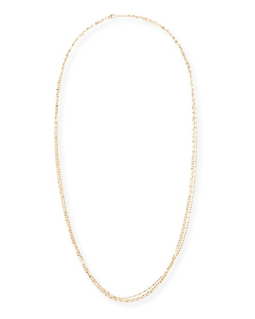 Lana Jewelry - Metallic Blake Three-strand Chain Necklace In 14k Gold - Lyst