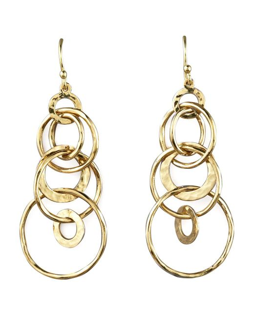 Ippolita - Metallic Glamazon Multi-link Jet-set Earrings - Lyst