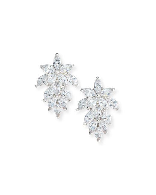 Fallon - Metallic Monarch Mini Cluster Crystal Earrings - Lyst