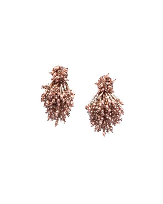 Mignonne Gavigan | Multicolor Burst Beaded Statement Earrings | Lyst