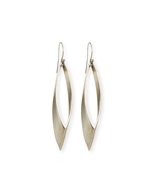 Auden - Metallic Talon Marquis Hoop Earrings - Lyst