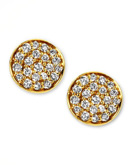 Ippolita - Metallic Stardust Mini Diamond Stud Earrings - Lyst