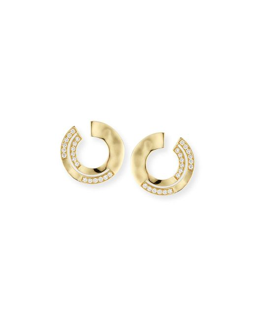Ippolita - White 18k Sensotm Staggered Diamond Small Earrings - Lyst