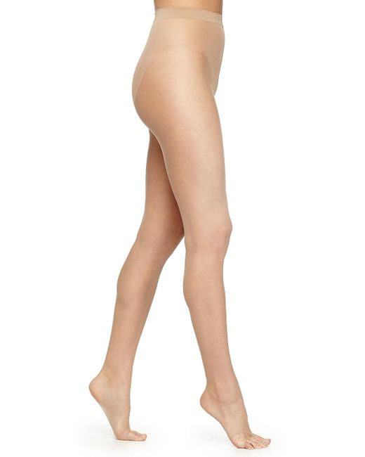 Wolford - Brown Luxe 9 Toeless Tights - Lyst