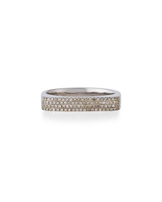EF Collection - Multicolor 14k Gold Jumbo Bar Ring With Diamonds - Lyst