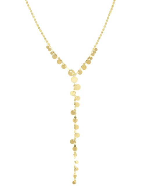 Lana Jewelry | Metallic Multi-disc Y Lariat Necklace | Lyst
