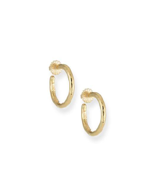Ippolita - Metallic Glamazon Yellow Gold Hoop Earrings - Lyst
