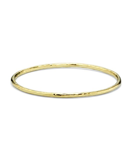 Ippolita - Metallic 18k Gold Glamazon Bangle #1 - Lyst