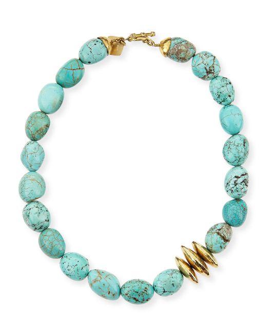 Ashley Pittman - Blue Yai Turquoise Necklace - Lyst