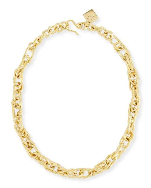 Ashley Pittman - Metallic Saka Bronze Chain Link Necklace - Lyst