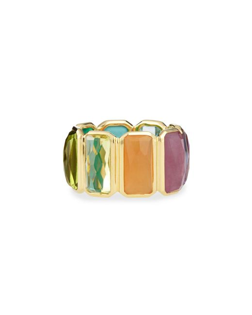 Ippolita | Metallic 18k Rock Candy Fancy Rectangle Lollipop Ring | Lyst