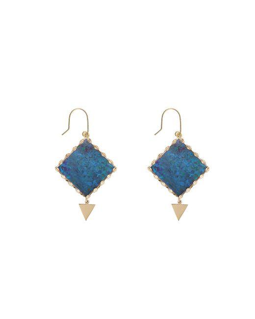 Lana Jewelry | Blue Mini Prix Boulder Opal Earrings | Lyst