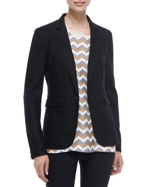 Rag & Bone   Black Long-sleeve Wool Club Jacket   Lyst