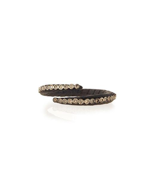 Armenta | Black Old World Midnight Crisscross Diamond Ring | Lyst
