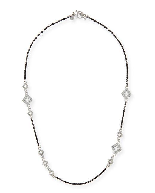 Armenta   Metallic New World Diamond Cravelli Chain Necklace   Lyst