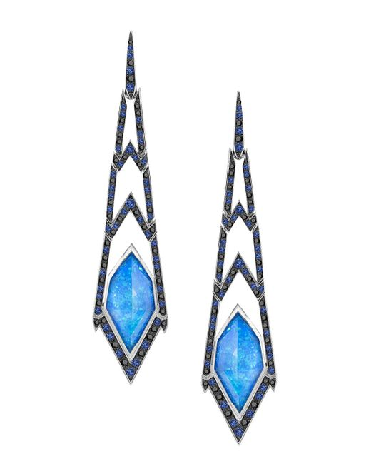 Stephen Webster | Blue Lady Stardust Crystal Haze Earrings | Lyst