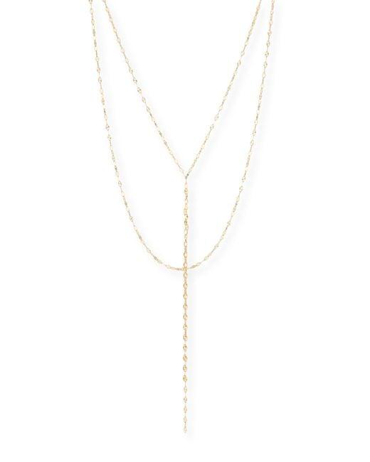 Lana Jewelry   Metallic Mega Blush 14k Gold Necklace   Lyst