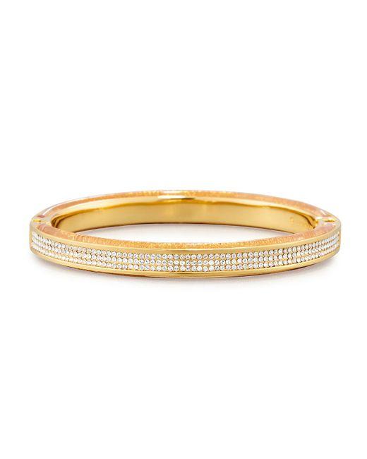 Vita Fede   Metallic Mini Bumper Crystal Hinged Bracelet   Lyst