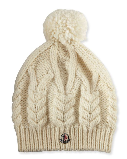 moncler mens knit hat