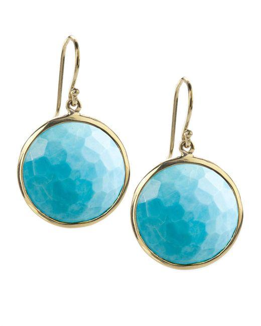 Ippolita | Metallic Turquoise Lollipop Earrings | Lyst