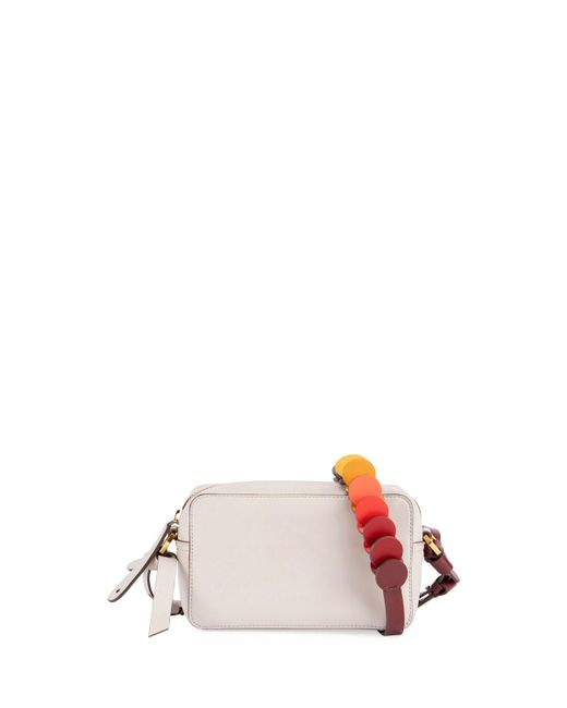 Anya Hindmarch | Gray Crossbody Mini Circle Leather Shoulder Bag | Lyst