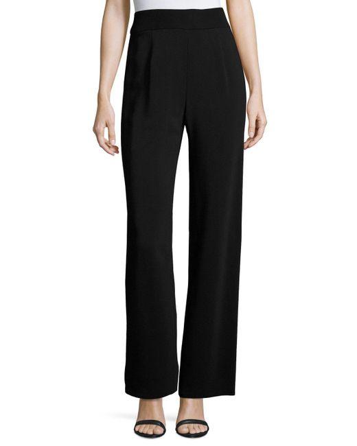 Urban Zen | Black Fluid Jersey Side-zip Pants | Lyst