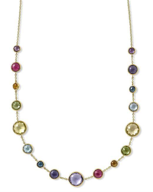 Ippolita   Metallic 18k Gold Lollitini Multi-stone Necklace   Lyst