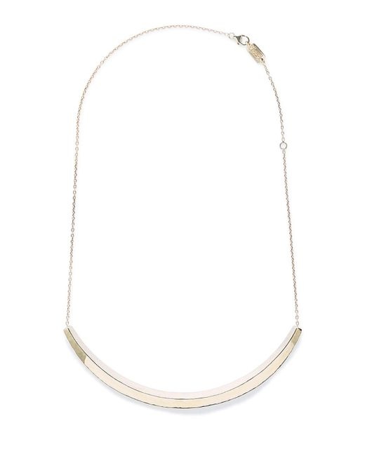 Ippolita | Metallic 18k Classico Curved Bar Necklace | Lyst