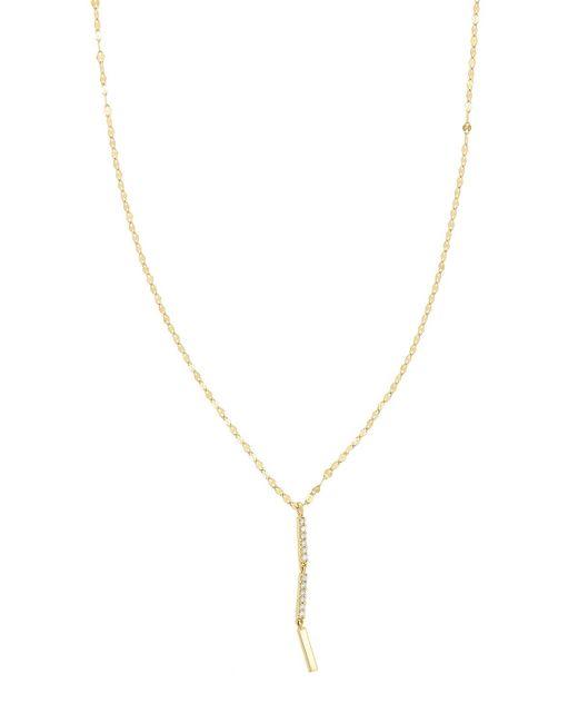 Lana Jewelry | Metallic Flawless Vol. 6 14k Drop Necklace With Diamonds | Lyst