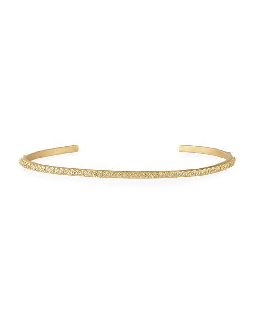 Armenta | Metallic Sueno 18k Yellow Gold Bracelet With White Diamonds | Lyst