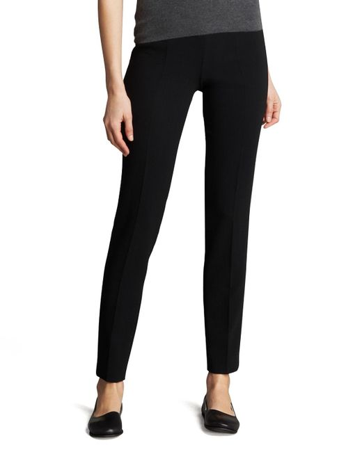 Akris | Black Slim Ankle-cut Pants | Lyst
