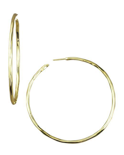 Ippolita | Metallic Thin Glamazon Hoop Earrings, Medium | Lyst