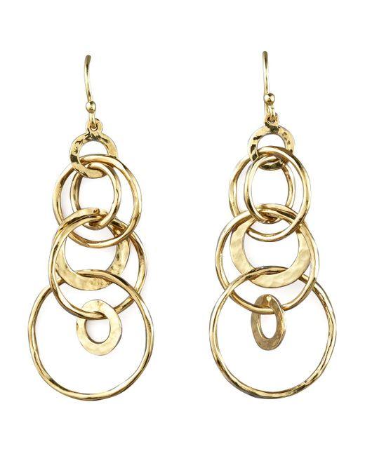 Ippolita   Metallic Glamazon Multi-link Jet-set Earrings   Lyst