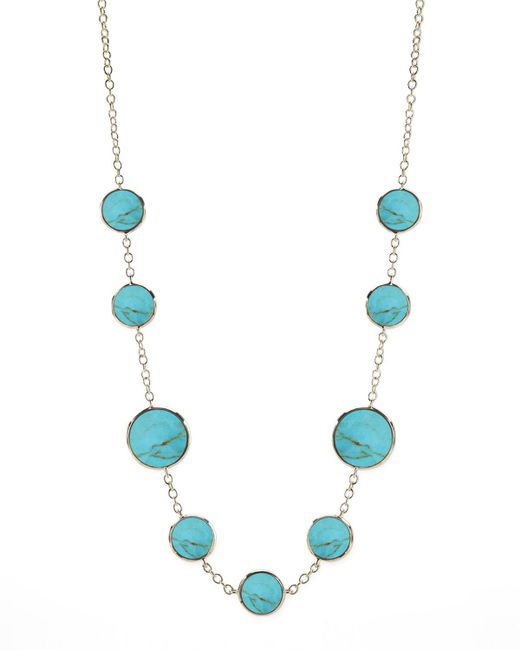 Ippolita | Blue Turquoise Slice Necklace | Lyst