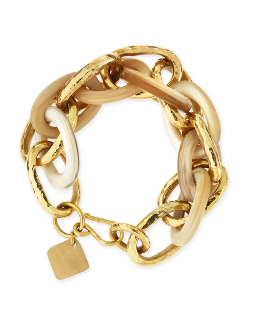 Ashley Pittman | Metallic Ndovu Light Horn & Bronze Bracelet | Lyst