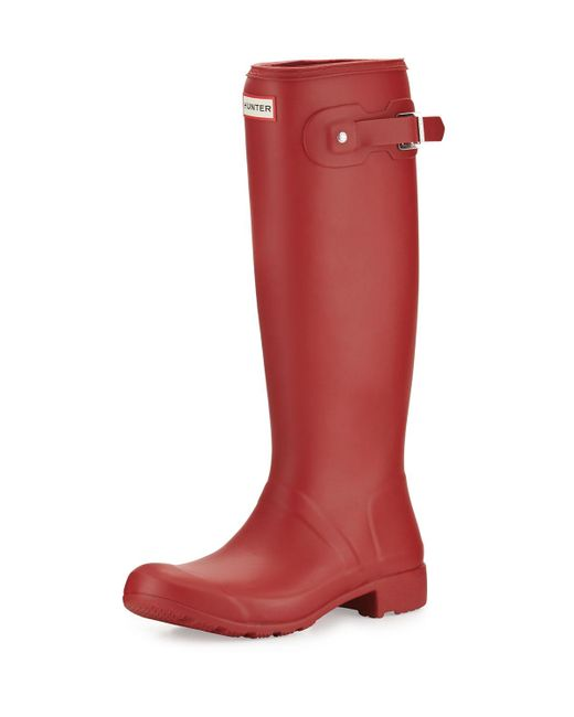 Hunter   Red Original Tour Welly Boot   Lyst