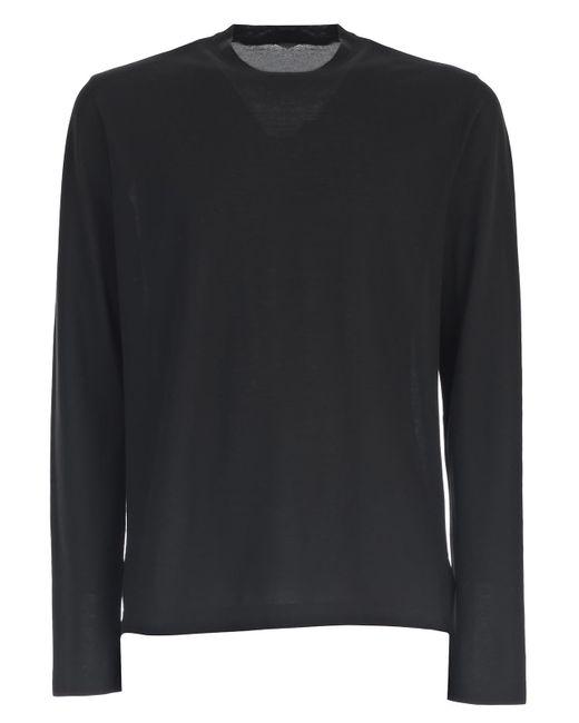 Zanone | Black T-shirt M/l for Men | Lyst